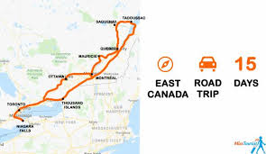 Another Word For Itinerary Is Quebec Ontario Itinerary An Epic 2 Week Road Trip With