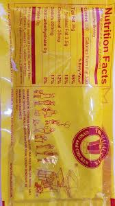 photo of the halal guys new york ny united states updated nutritional