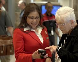 handheld devices roll out to delta sky clubs sding check in supporting more personal engagements