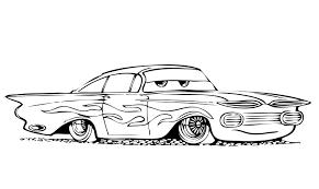 Disegno Di Cars Con Ramon Da Colorare
