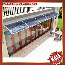 aluminum polycarbonate diy canopy awning sunshade cover for house window door 1
