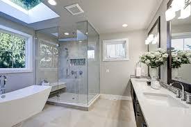 recessed lighting in the bathroom