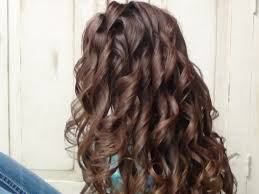 Hair Style Curling easy way to curl long hairstyles youtube 4100 by wearticles.com