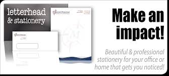 Letterhead Printing Find Business Letterhead Examples Here