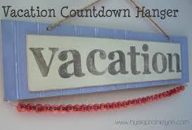 Calendar Countdown Days 30 Days Til Vacation A Countdown Calendar Hanger Bystephanielynn