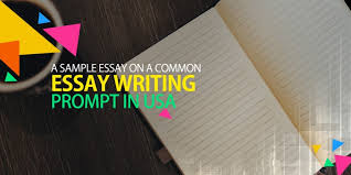 A Sample Essay On A Common Essay Writing Prompt In Usa