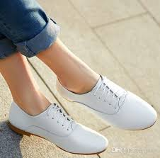 2016 women oxford shoes ballerina flats shoes women genuine leather shoes moccasins lace up loafers