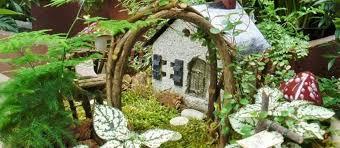 an urban fairy garden to enjoy indoors all year