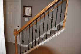 Stairs, Glamorous Iron Stair Railings Wrought Iron Porch Railings Brown  Woods With Black Iron Stair