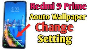 change automatic lock screen wallpaper redm