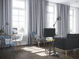 Scandinavian Living Room Curtains