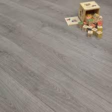 Grey Oak Style Laminate Flooring, Only Per