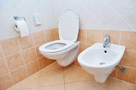 bidet in bathroom