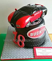 The veyron bleu centenaire was developed to mark the centenary of the bugatti brand. Bugatti Veyron Car Cake Car Cake Car Cake Tutorial Car Cakes For Boys