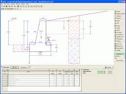 Small Picture Gravity Wall Design and check of gravity retaining walls DIANA FEA