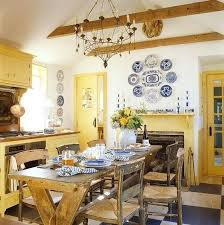 yellow country kitchens. Blue And Yellow Kitchens French Country Kitchen Best Ideas On Plaid Curtains