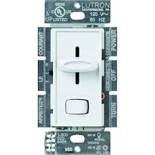 lutron toggler 150 watt single pole 3 way cfl led dimmer light skylark 150 watt single pole 3 way preset cfl led dimmer
