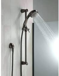 bronze shower wand shower heads slide bar delta 3 spray slide bar hand shower in bronze bronze shower wand two shower head