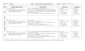 Teacher S D Spates Subject Principles Of Business Marketing
