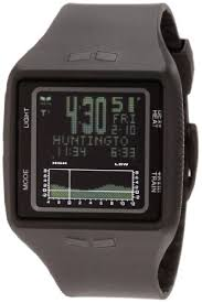 vestal men s brg001 brig tide and train all black digital vestal men s brg001 brig tide and train all black digital polyurethane surf watch