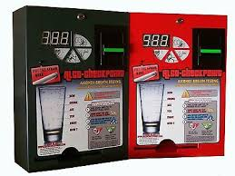 Manual Vending Machine Stunning ALCOBUDDY ALCO CHECKPOINT Breathalyzer Vending Machine OEM Service