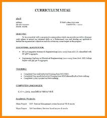 Resume Samples For Freshers Engineers Pdf Format For Engineers