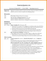 Sample Resume Cpa Candidate Eliolera Com