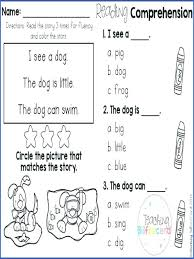 Kindergarten Reading Worksheets Free Beginning Reading Worksheets ...