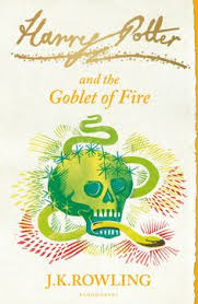 harry potter and the goblet of fire cover design ilration by clare melinsky bloomsbury
