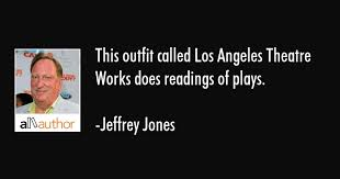 Los Angeles Quotes Impressive This Outfit Called Los Angeles Theatre Works Quote