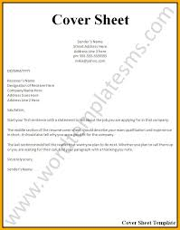 Modern Resume Sheet Cover Page Resume