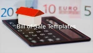 11 Microsoft Word Bill Of Sale Templates Free Premium