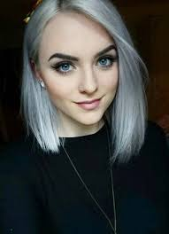 short hairstyles for women with thin fine hair gray bob