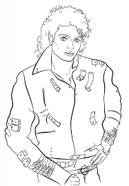 Small Picture Printable Michael Jackson Coloring Pages Coloring Me