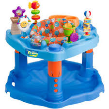 Baby Bouncer Activity Center ExerSaucer Interactive Toys Adjustable ...