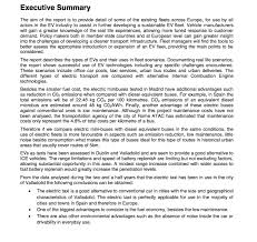 executive summary format for project report green emotion project project results economic challenges