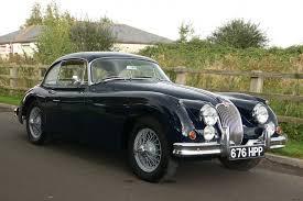 vintage classic car auctions 1959 jaguar xk150se fixed head coupe