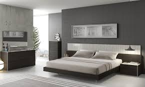 modern bedroom furniture images. Bedroom:Elegant Gray Bedroom With Dark Furniture Set Also Decorative Headboard Elegant Modern Images D