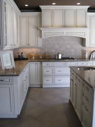 Glazed White Kitchen Cabinets Paint Is Benjamin Moore White Dove With A Chocolate Glaze Live