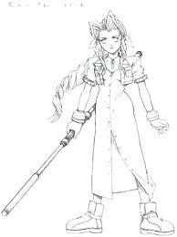 Final Fantasy 7 Coloring Pages Casadelarosainfo
