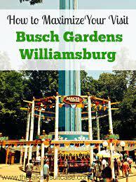 visit to busch gardens williamsburg