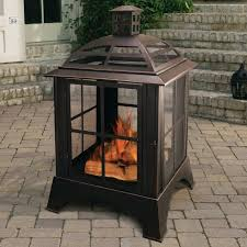 chesterfield wood burning fire pit
