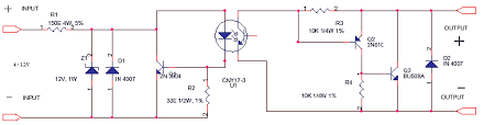 schematics of delabs dc dc ssr solid state relay dc ssr