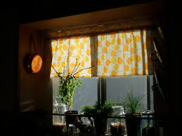 Yellow Gingham Kitchen Curtains Curtain For Kitchen Kitchen Curtains 15 Modern Kitchen Curtains