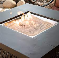 Silica Sand Heatproof Base Layer Sand For Fire Pits Amp Fireplaces 10 Lbs Walmart Com Walmart Com