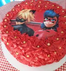 Somos especializados em bolos de casamento. Bolo Decorado Com Chantilly Ladybug No Elo7 Ane Cake Designer C45e38