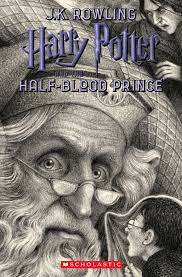 brian selznick s 20th anniversary cover harry potter and the half blood prince primarily features dumbledore with snape appearing above and harry below