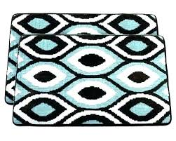 light blue bathroom rug brown bath sets rugs