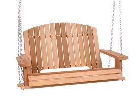 cedar garden porch swing ps50
