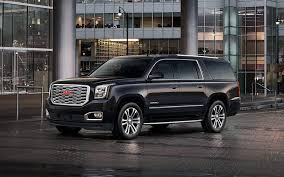 2018 gmc yukon xl. Beautiful Yukon Image Of The 2018 GMC Yukon XL Denali Fullsize Luxury SUV In Black Parked To Gmc Yukon Xl I